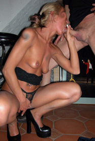 bdsm world private gangbang party